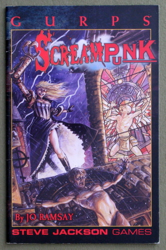 Image for GURPS Screampunk