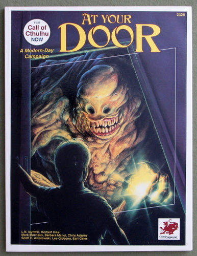 Image for At Your Door (Call of Cthulhu Horror Roleplaying, Modern Era)