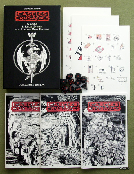 Image for Castles & Crusades Collector's Edition Black Box