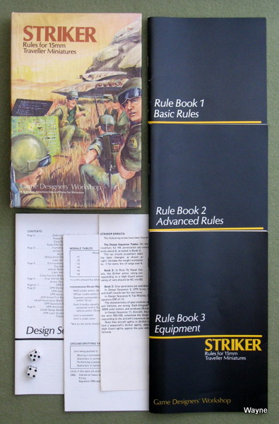 Image for Striker: Rules for 15mm Traveller Miniatures
