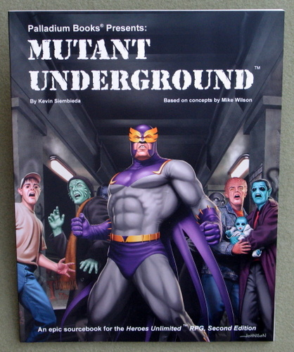 Image for Mutant Underground (Heroes Unlimited)
