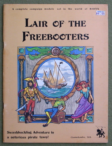 Image for Lair of the Freebooters (A complete campaign module Set in the world of HAVEN)
