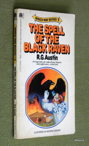 Image for Spell of the Black Raven (Which Way, No 3)