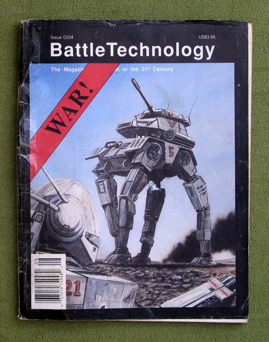 Image for BattleTechnology Magazine, Issue 0204 (Battletech) - READING COPY