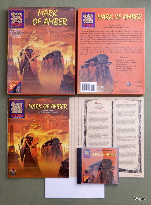 Image for Mark of Amber (Advanced Dungeons & Dragons: Mystara Audio CD Adventure)