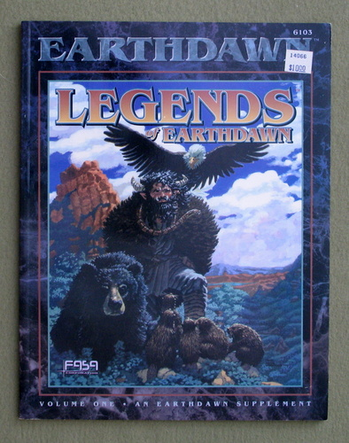 Image for Legends of Earthdawn, Volume 1