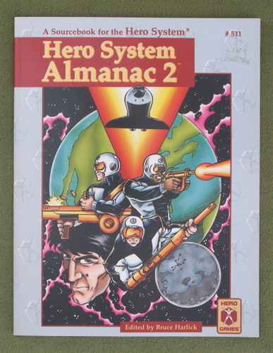 Image for HERO System Almanac 2 (Champions)