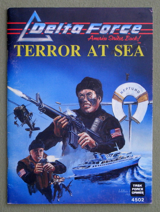 Image for Terror At Sea (Delta Force RPG Adventure)