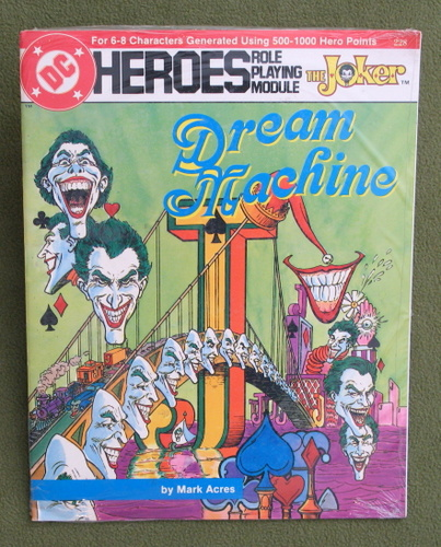 Image for Dream Machine (DC Heroes RPG)