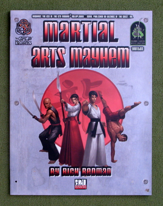 Image for Martial Arts Mayhem (d20 Modern Roleplaying Supplement)