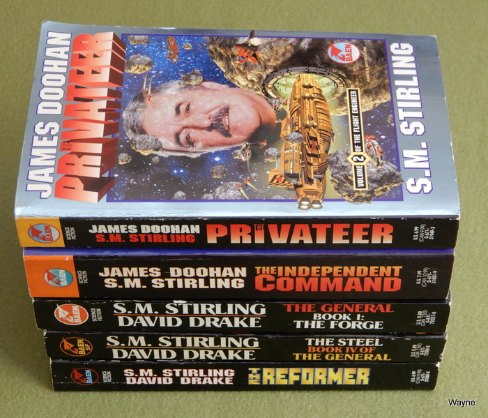 Image for Sci-Fi 5 Book Lot: Flight Engineer & The General