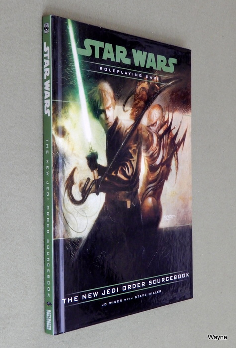 Image for The New Jedi Order Sourcebook (Star Wars D20 Roleplaying Game)