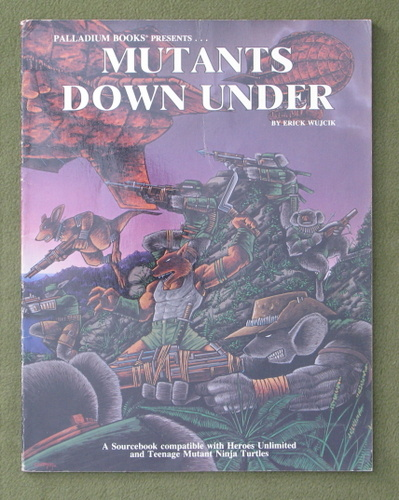 Image for Mutants Down Under (Teenage Mutant Ninja Turtles and Other Strangeness Role Playing Game Supplement)