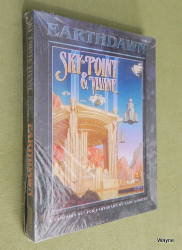 Image for Sky Point & Vivane (Earthdawn) - SHRINKWRAP