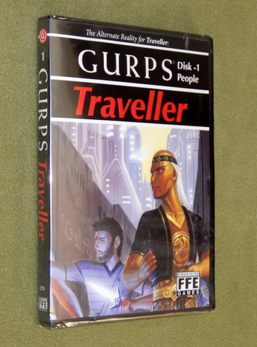 Image for GURPS Traveller Disk 1: People