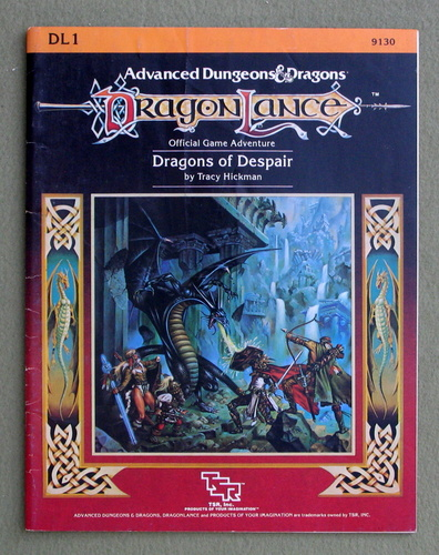 Image for Dragons of Despair (Advanced Dungeons & Dragons: Dragonlance module DL1)