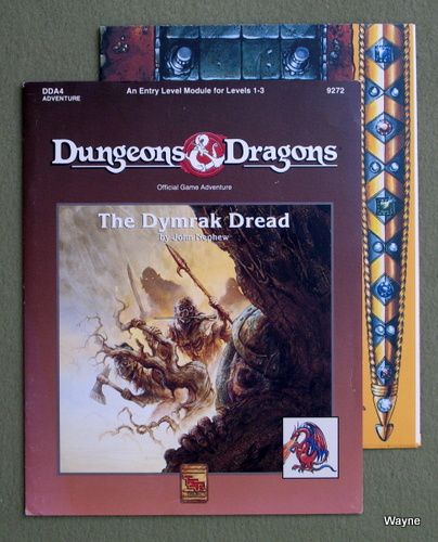 Image for The Dymrak Dread (Dungeons and Dragons Module DDA4)