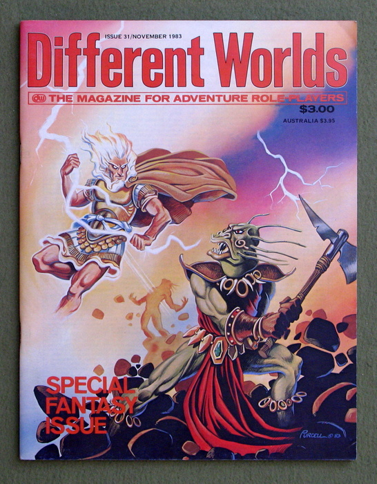 Image for Different Worlds Magazine, Issue 31