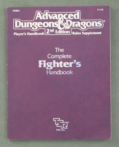 Image for Complete Fighter's Handbook (AD&D) - PLAY COPY