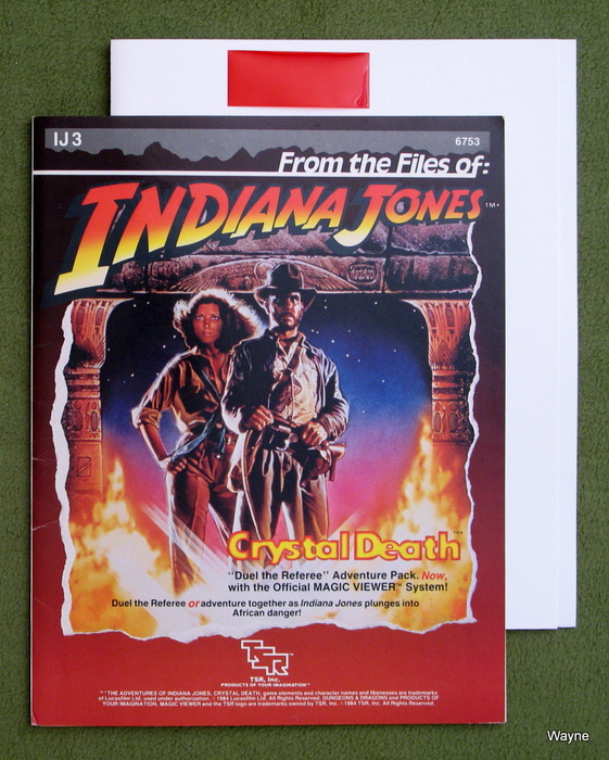 Image for The Crystal Death (Indiana Jones RPG module IJ3)