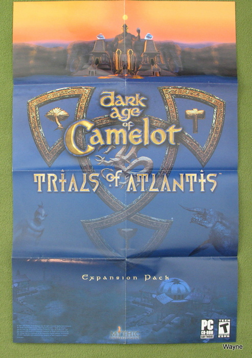 Image for POSTER: Dark Age of Camelot - Trials of Atlantis Expansion Pack