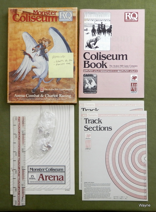 Image for Monster Coliseum (Runequest) - INCOMPLETE