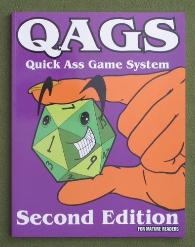 Image for QAGS: Second Edition (Quick Ass Game System)