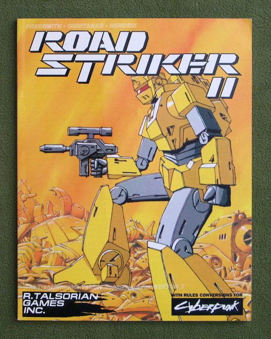 Image for Roadstriker II (Mekton II RPG)