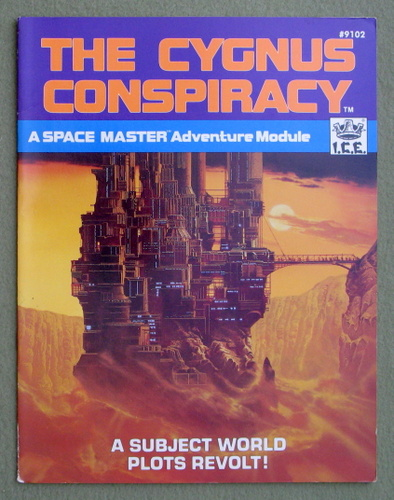 Image for The Cygnus Conspiracy (Space Master RPG)