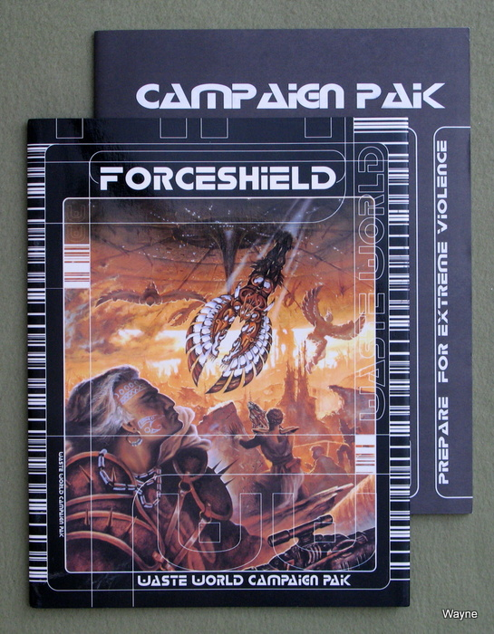 Image for Forceshield - Waste World Campaign Pak