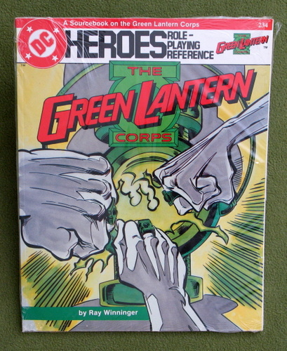 Image for Green Lantern Corps Sourcebook (DC Heroes RPG)