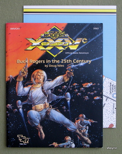 Image for Buck Rogers in the 25th Century (XXVc RPG module XXVCA1)