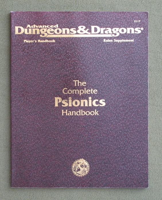 Image for Complete Psionics Handbook (Advanced Dungeons & Dragons, 2nd Edition)