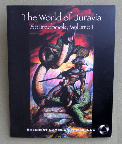 Image for World of Juravia Sourcebook, Volume 1