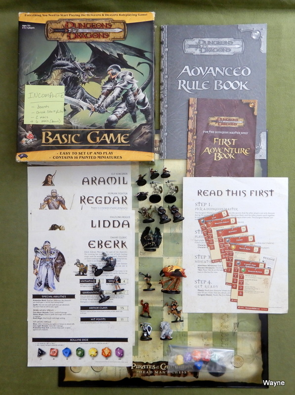 Image for Dungeons & Dragons Basic Game - Black Dragon Edition - INCOMPLETE