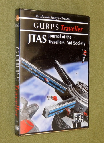 Image for GURPS Traveller: JTAS Journal of the Travellers' Aid Society Online Archive