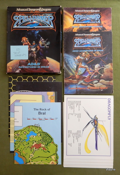 Image for Spelljammer (AD&D Adventures in Space) - PLAY SET