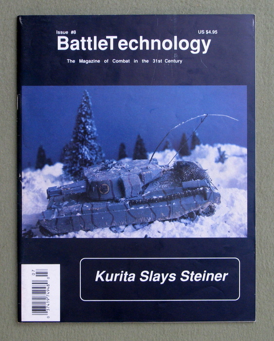 Image for BattleTechnology Magazine, Issue 8 (Battletech)