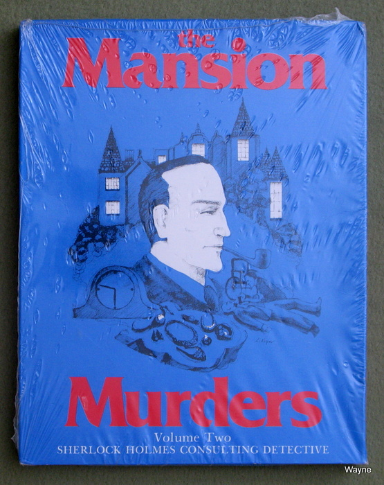 Image for The Mansion Murders (Sherlock Holmes Consulting Detective)