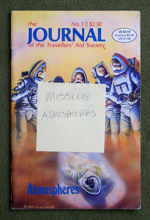 Image for Journal of the Travellers' Aid Society, Issue 17 - MISSING ATMOSPHERES INSERT