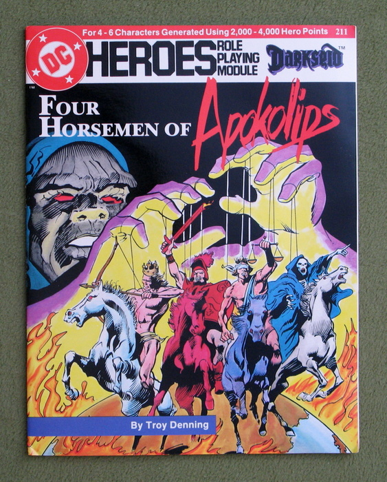 Image for Four Horsemen of Apokolips (DC Heroes RPG)