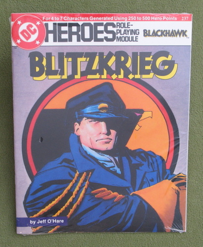 Image for Blitzkrieg (DC Heroes Role-Playing Module Featuring Blackhawk)