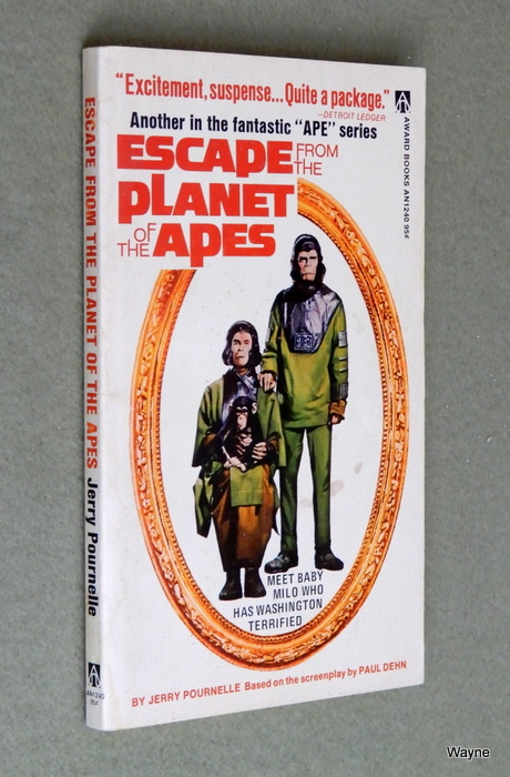Image for Escape from the Planet of the Apes