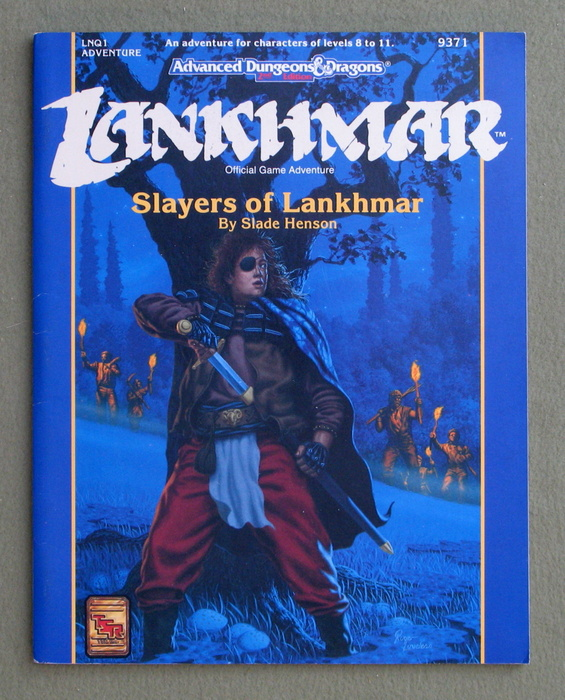 Image for Slayers of Lankhmar (Advanced Dungeons & Dragons/Lankhmar Module LNQ1)