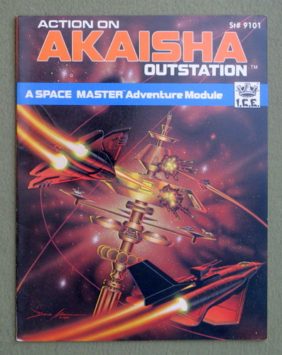 Image for Action on Akaisha Outstation (Space Master RPG)