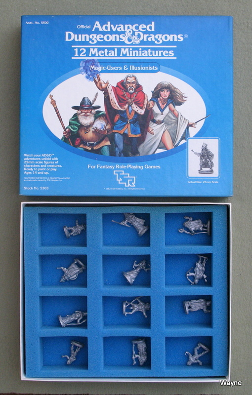 Image for Magic-Users & Illusionists (Advanced Dungeons & Dragons Metal Miniatures)