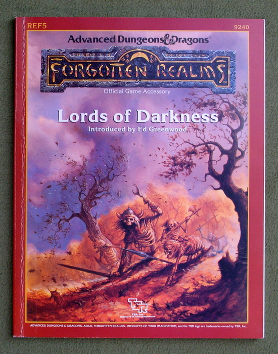 Image for Lords of Darkness (Advanced Dungeons & Dragons: Forgotten Realms Accessory REF5)
