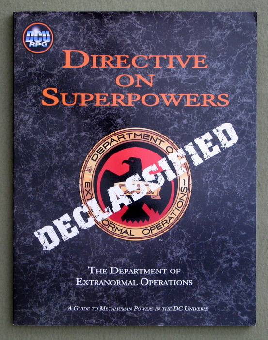 Image for Directive on Superpowers: A Guide to Metahuman Powers in the DC Universe (DCU RPG)