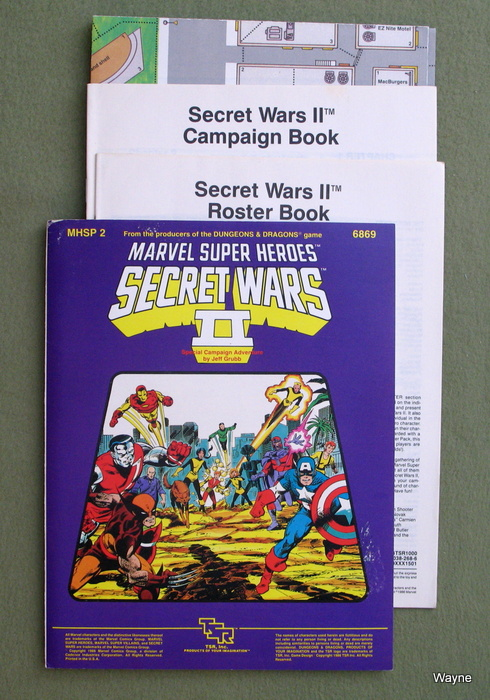 Image for Secret Wars II (Marvel Super Heroes Module MHSP2)