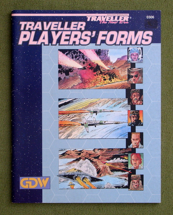 Image for Traveller Players' Forms (Traveller: The New Era)
